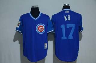 Wholesale Men's MLB Chicago Cubs Cool Base Jerseys (14)