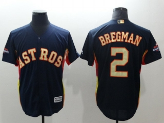 Wholesale Men's MLB Houston Astros 2018 Gold Program Cool Base Jersey (30)