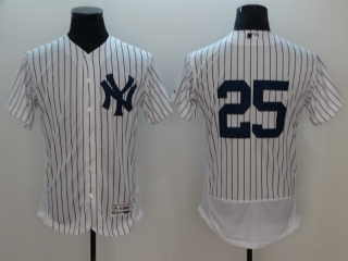 Wholesale Men's MLB New York Yankees Flex Base Jerseys (23)