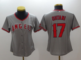 Wholesale Women's MLB Los Angeles Angels Cool Base Jerseys (9)