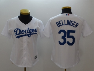 Wholesale Women's MLB Los Angeles Dodgers Cool Base Jerseys (23)