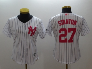 Wholesale Women's MLB New York Yankees Cool Base Jerseys (27)