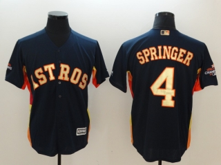Wholesale Men's MLB Houston Astros 2018 Gold Program Cool Base Jersey (43)