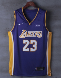 Wholesale NBA Lakers James #23 Nike Jerseys Player Edition (2)