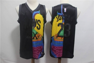 Wholesale NBA CHI Jordan KAWS NBA Jerseys (6)