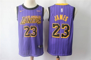 Wholesale NBA LAL James #23 Nike Jerseys City Edition (10)