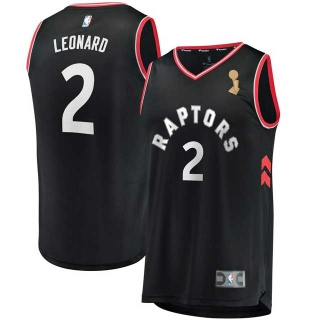 Wholesale NBA TOR Leonard Finals Champions Jerseys (6)