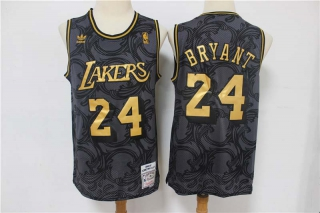 Wholesale NBA LAL Kobe Bryant Black Gold Vintage Limited Edition Jersey (1)