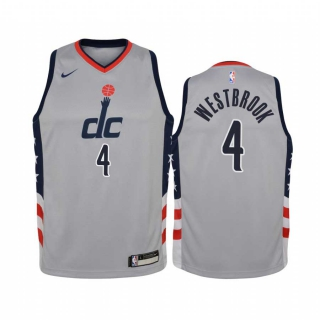 Wholesale NBA Washington Wizards Russell Westbrook Nike Jersey City Edition (1)